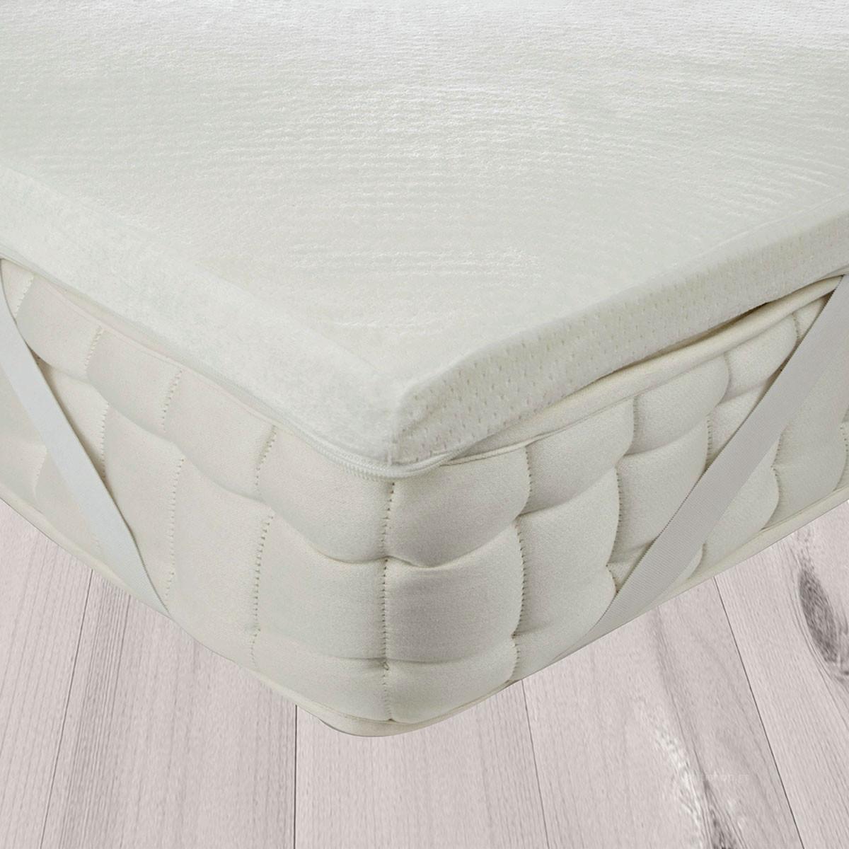Ανώστρωμα King Size (200x200) Anna Riska Memory Foam home   κρεβατοκάμαρα   επιστρώματα   ανωστρώματα