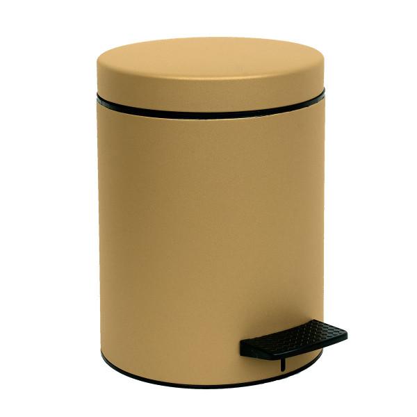 Κάδος Απορριμμάτων (20x28) PamCo 5Lit 96 Gold Satine
