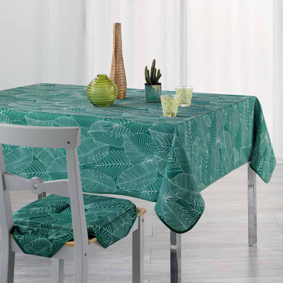 Αλέκιαστο Τραπεζομάντηλο (150x200) Gatsby Vert 1722354 home   κουζίνα   τραπεζαρία   τραπεζομάντηλα