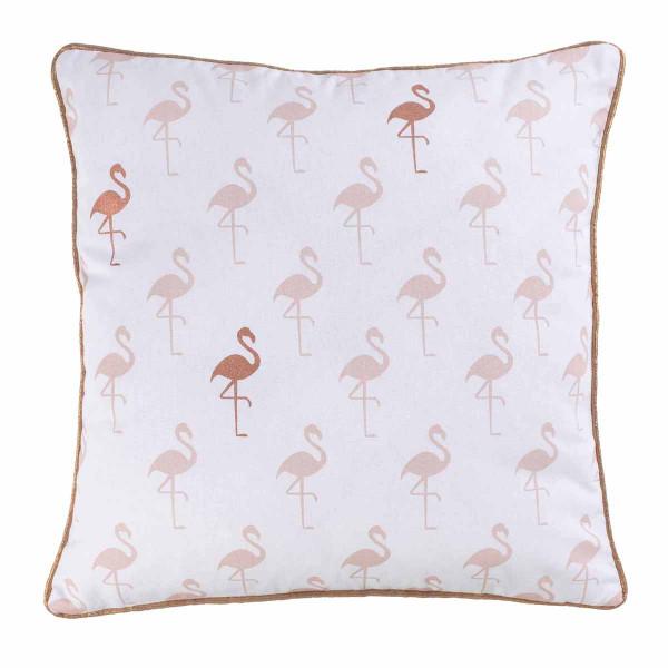 Διακοσμητική Μαξιλαροθήκη (40x40) L-C Flamingo 1607774