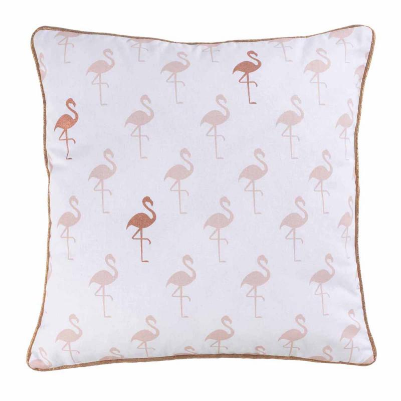 Διακοσμητική Μαξιλαροθήκη (40x40) Flamingo 1607774