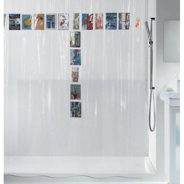 Κουρτίνα Μπάνιου Πλαστική (180x200) Green Style 00728.001 Pocket