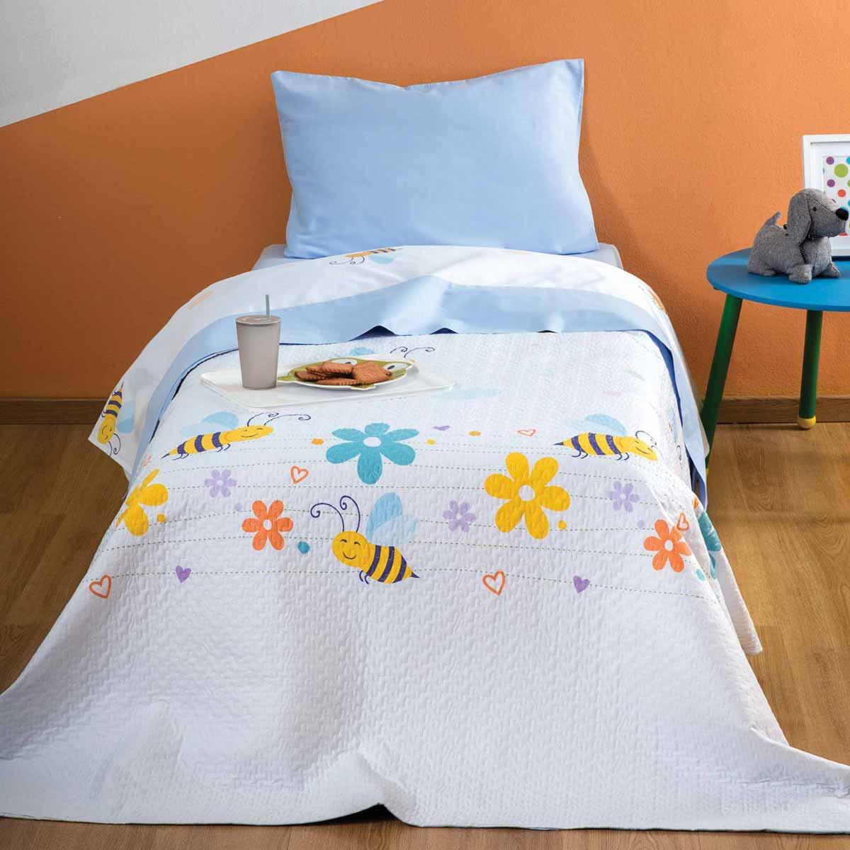 Κουβερλί Μονό Zouzounia Μέλισσα 173