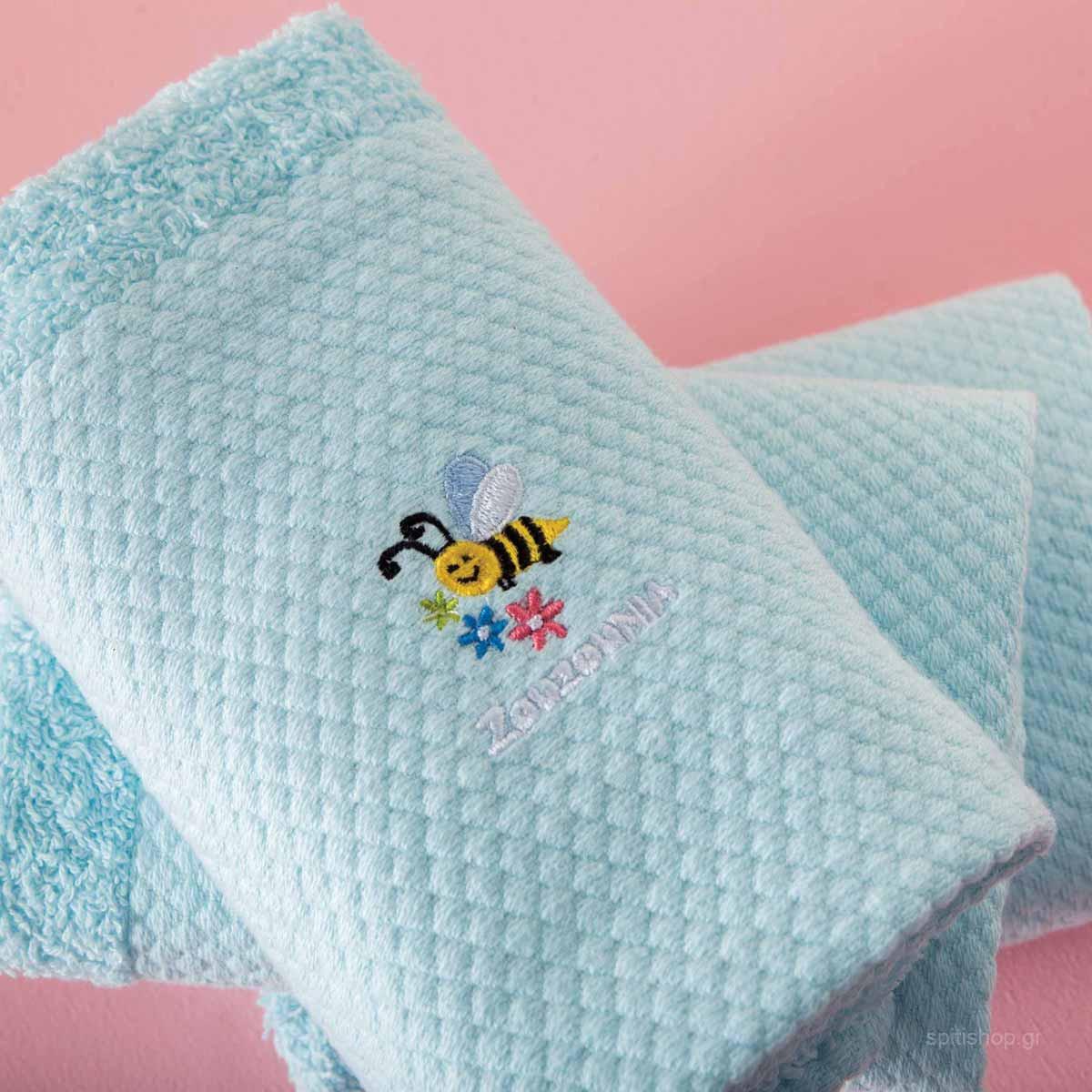 Βρεφικές Πετσέτες Χεριών (Σετ 3τμχ) Zouzounia Μέλισσα 236