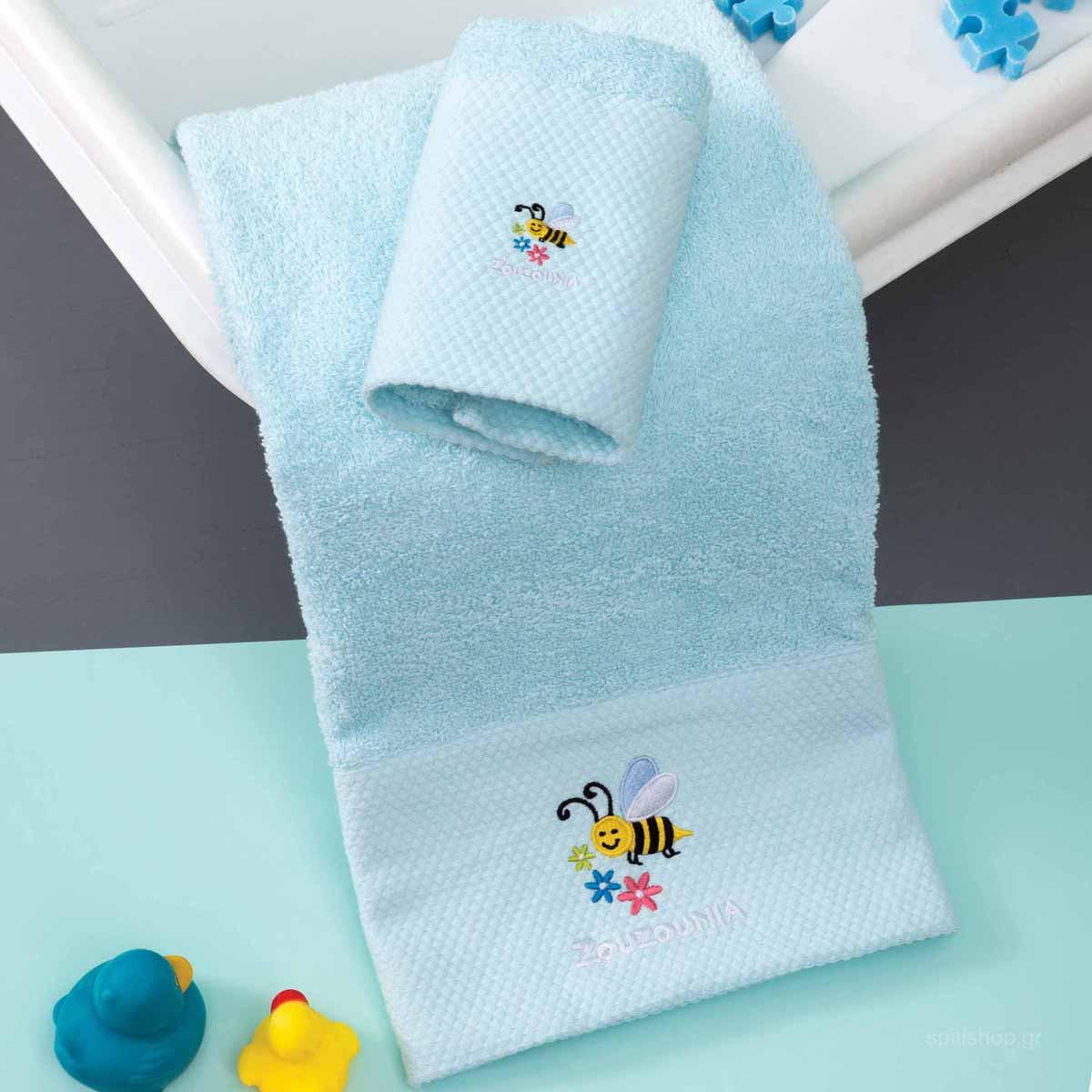 Βρεφικές Πετσέτες (Σετ 2τμχ) Zouzounia Μέλισσα 244