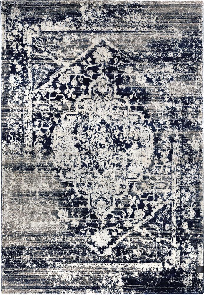 Χαλί (190×290) Guy Laroche Tabriz Blue/Black