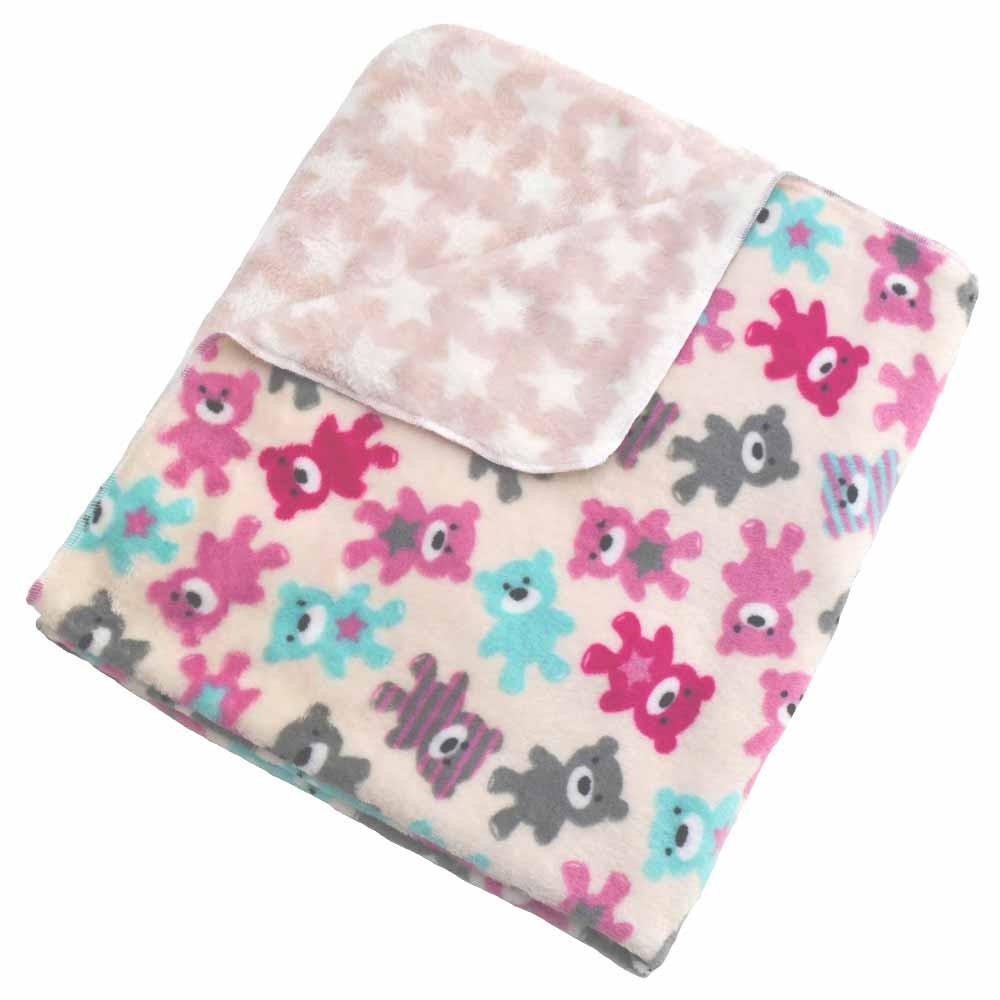 Κουβέρτα Fleece Αγκαλιάς Κόσμος Του Μωρού 0300 Doudou Ροζ