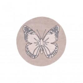 Πλενόμενο Στρογγυλό Χαλί (Φ160) Lorena Canals Butterfly Vintage Nude