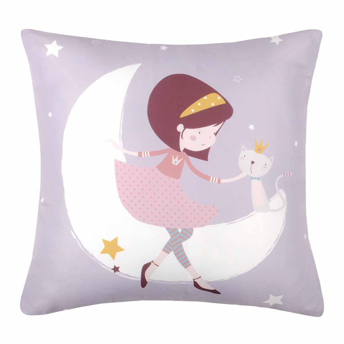 Διακοσμητικό Μαξιλάρι Louise Fille C05208002 home   παιδικά   διακοσμητικά μαξιλάρια παιδικά