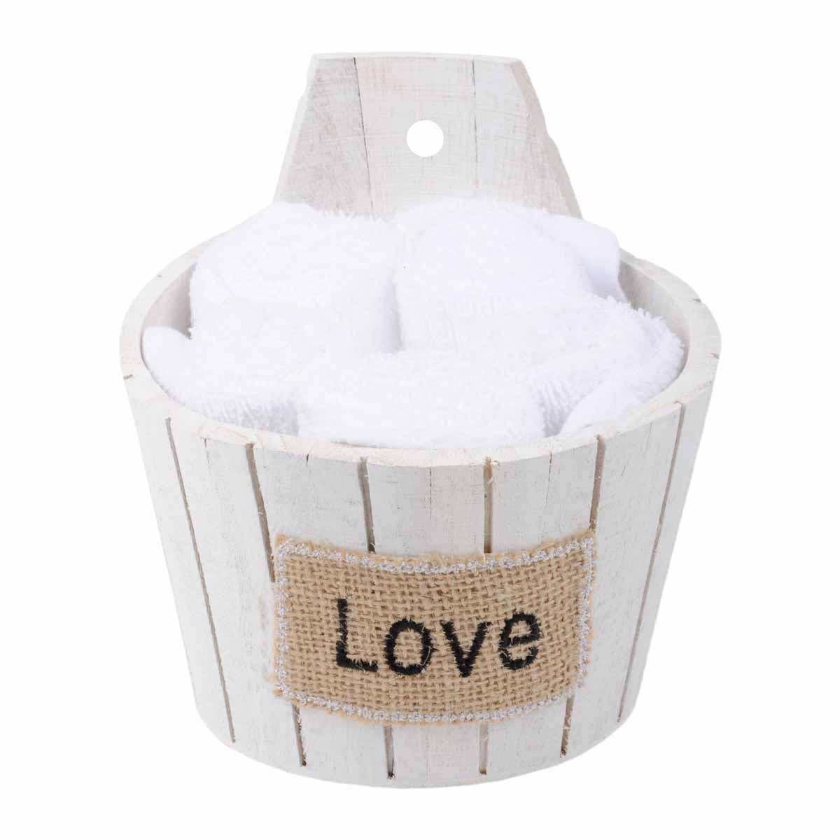 Πετσέτες Δώρου (Σετ 5τμχ) Love Blanc B03728002