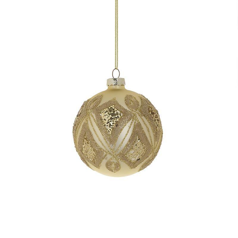 Χριστουγεννιάτικα Στολίδια (Σετ 4τμχ) InArt 2-70-890-0076