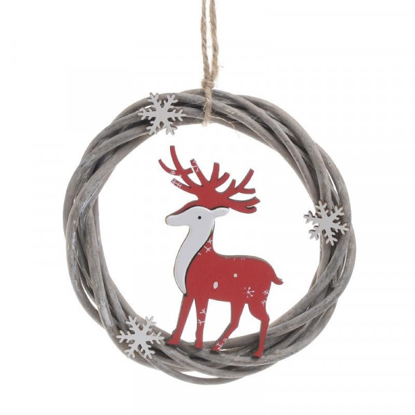 Χριστουγεννιάτικο Στεφανάκι InArt 2-70-718-0009
