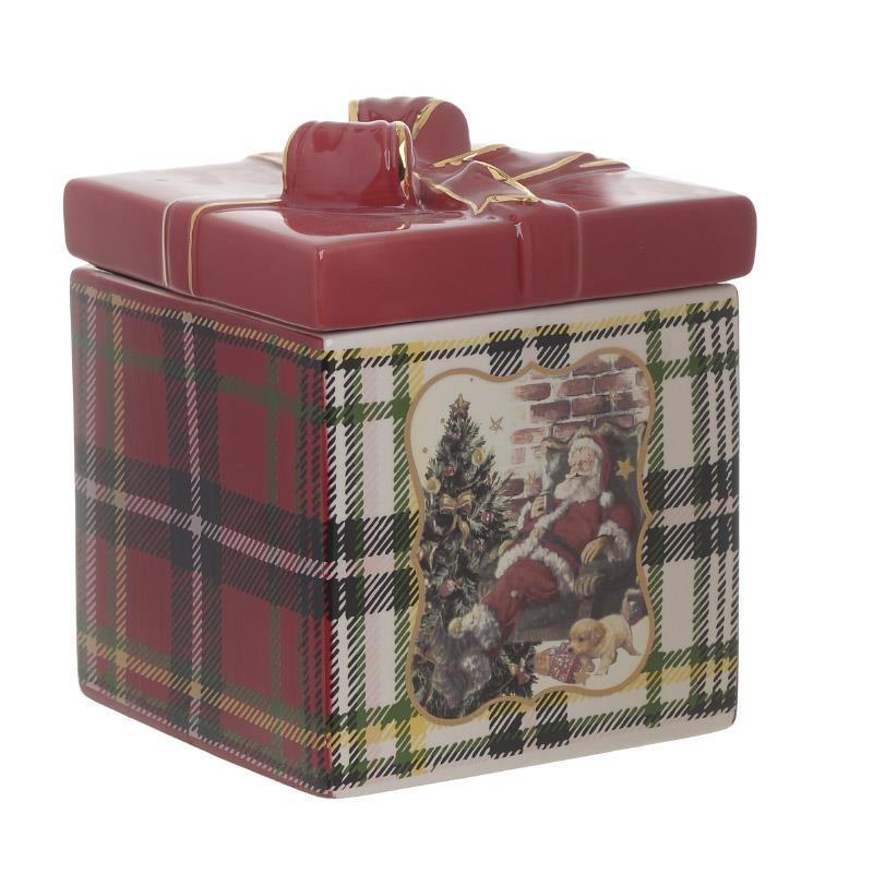 Χριστουγεννιάτικη Μπισκοτιέρα InArt 2-60-178-0002