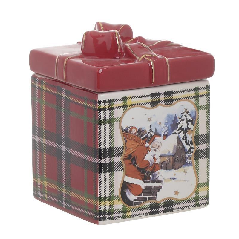 Χριστουγεννιάτικη Μπισκοτιέρα InArt 2-60-178-0003