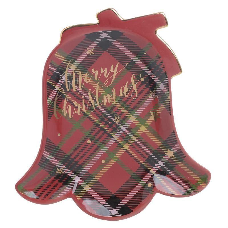 Χριστουγεννιάτικη Πιατέλα InArt 2-60-178-0009