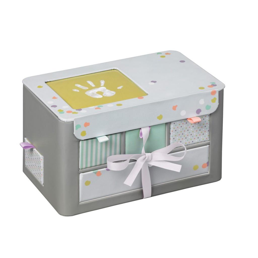 Κουτί Αναμνήσεων Baby Art My Little Treasures Grey BR71046 home   βρεφικά   βρεφική διακόσμηση