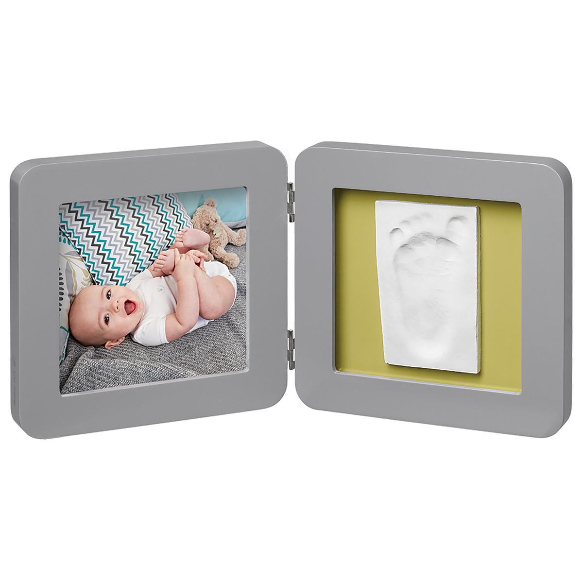 Κορνίζα Αποτύπωμα 2 Θέσεων Baby Art My Baby Touch Grey