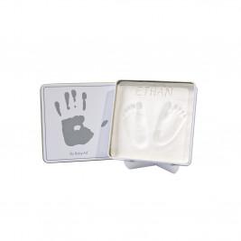 Κουτί Για Αποτύπωμα Baby Art White/Grey BR71069