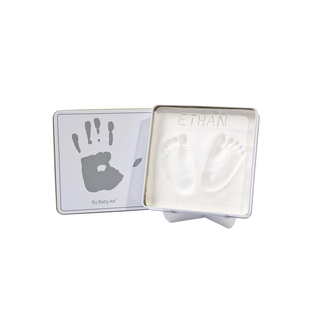 Κουτί Για Αποτύπωμα Baby Art White/Grey BR71069 home   βρεφικά   βρεφική διακόσμηση