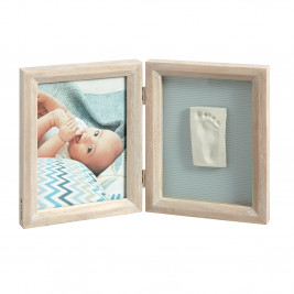 Κορνίζα Αποτύπωμα 2 Θέσεων Baby Art My Baby Touch Stormy BR71071