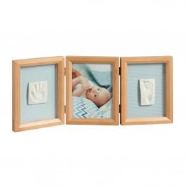 Κορνίζα Αποτύπωμα 3 Θέσεων Baby Art My Baby Touch Honey BR71072