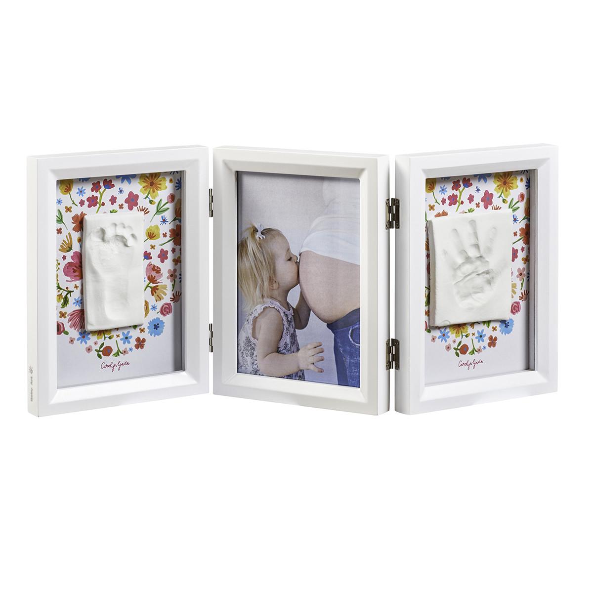 Κορνίζα Αποτύπωμα 3 Θέσεων Baby Art Carolin Gavin BR72740 home   βρεφικά   βρεφική διακόσμηση