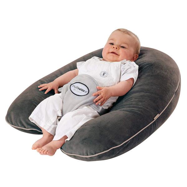 Φωλιά Ύπνου/Μαξιλάρι Εγκυμοσύνης 3 Σε 1 Candide Plumes Gris 72404