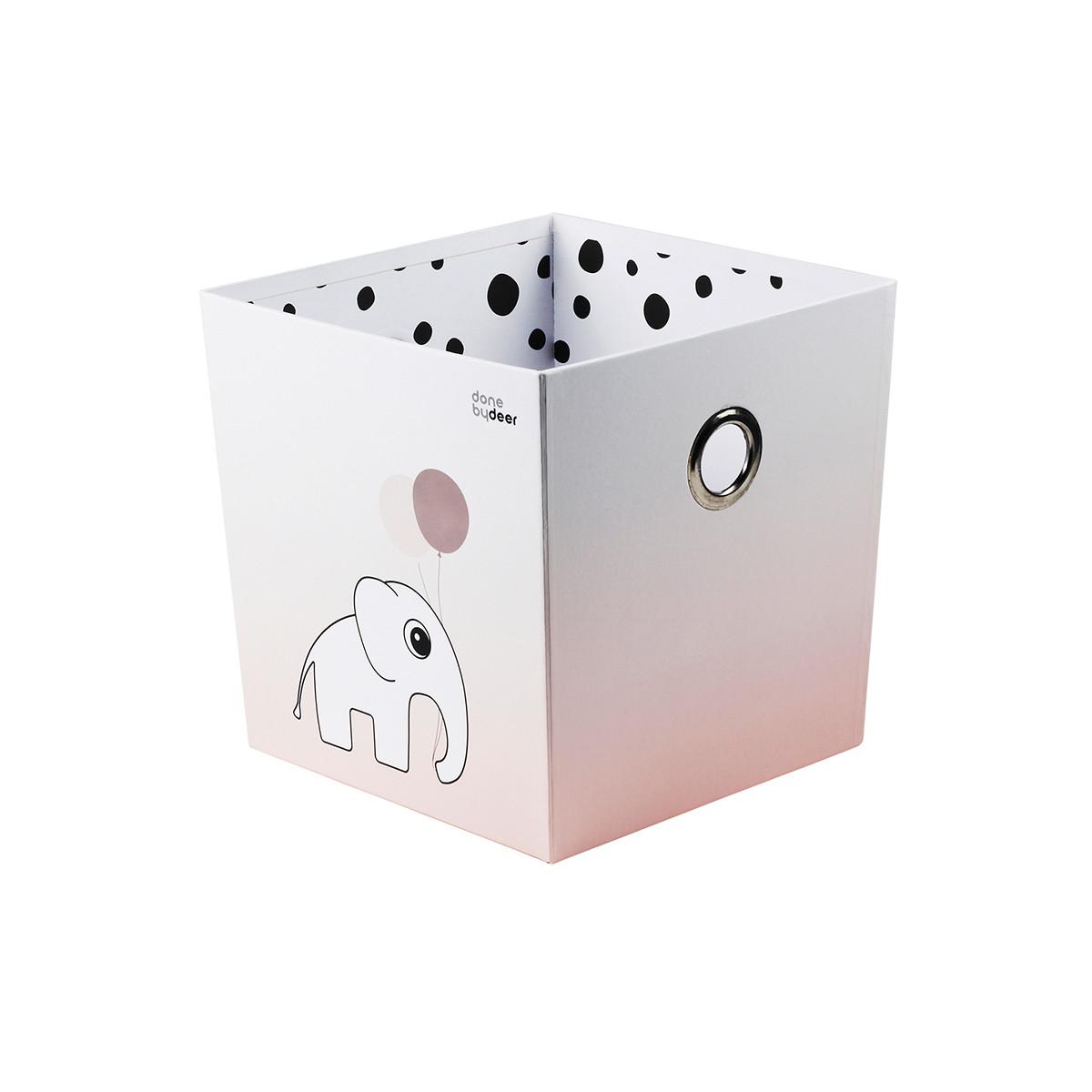 Κουτί Αποθήκευσης Done By Deer Happy Dots Powder BR72008 home   παιδικά   παιδική διακόσμηση