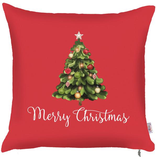Χριστουγεννιάτικη Μαξιλαροθήκη (43x43) Apolena Tree Xmas 702-690