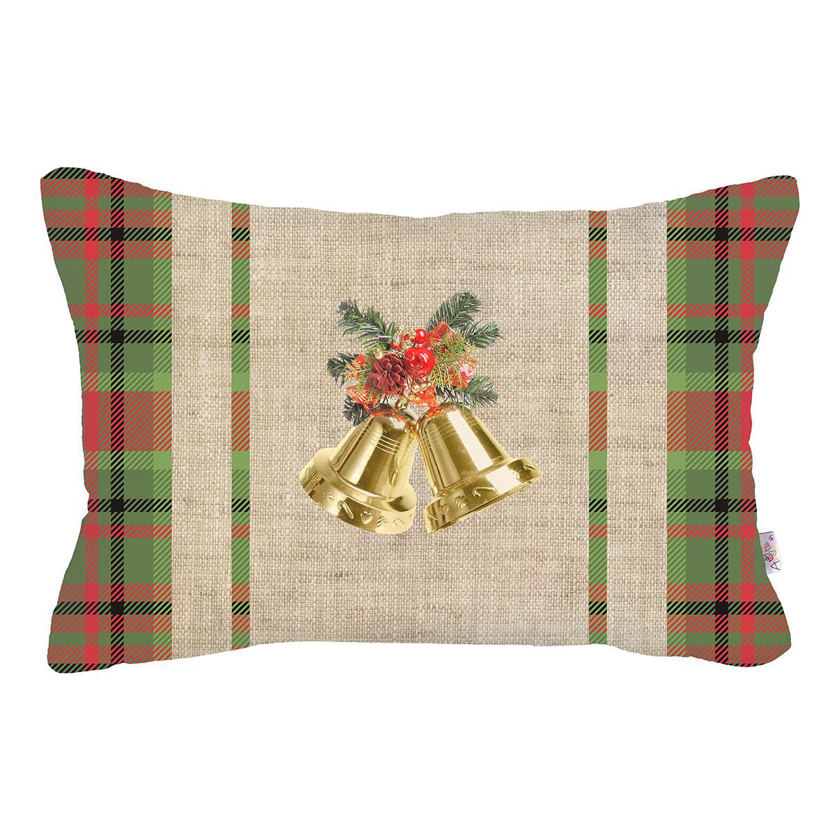 Χριστουγεννιάτικη Μαξιλαροθήκη (31×50) Apolena 701-6907/2