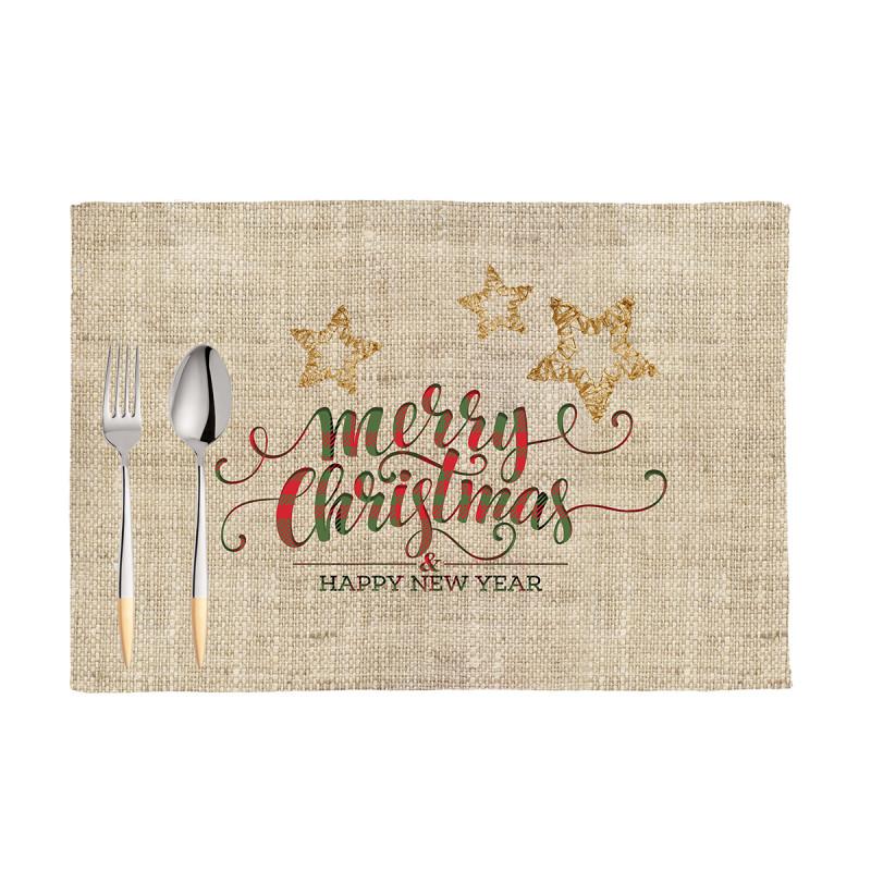 Χριστουγεννιάτικα Σουπλά (Σετ 2τμχ) Apolena New Year 790-6878/1