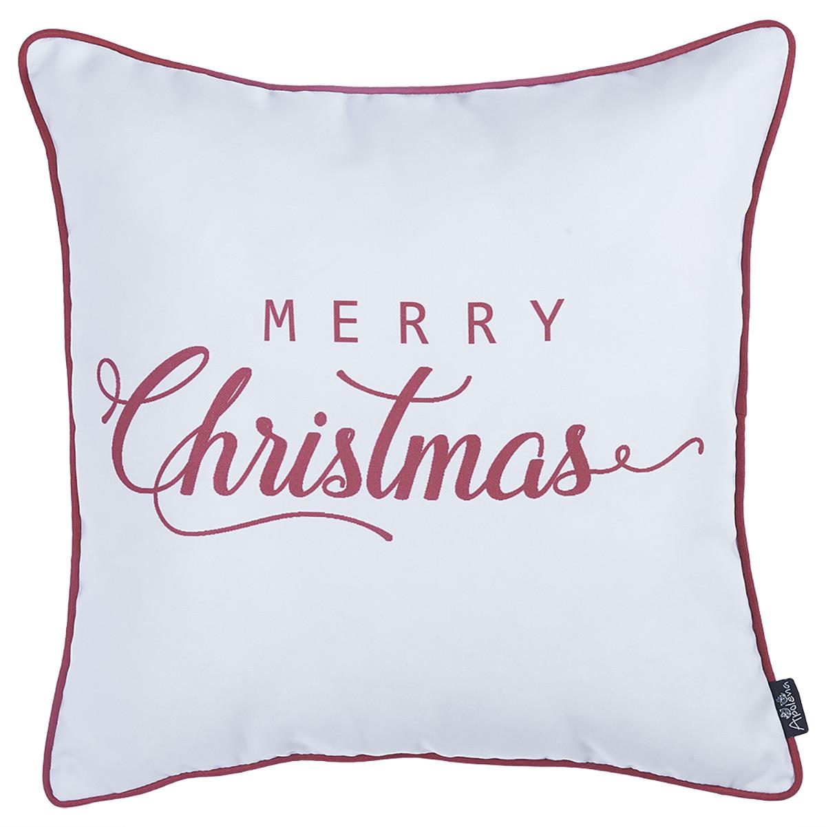 Χριστουγεννιάτικη Μαξιλαροθήκη (45×45) Apolena Merry 706-5601/1
