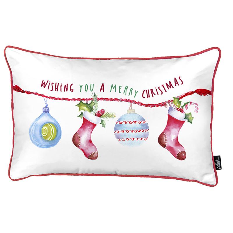 Χριστουγεννιάτικη Μαξιλαροθήκη (30x51) Apolena 719-5585/1