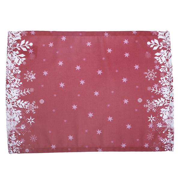 Χριστουγεννιάτικα Σουπλά (Σετ 2τμχ) Apolena Snow Red 790-5611/2