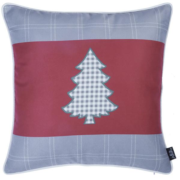 Χριστουγεννιάτικη Μαξιλαροθήκη (45x45) Apolena 706-5606/1