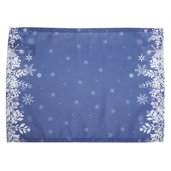 Χριστουγεννιάτικα Σουπλά (Σετ 2τμχ) Apolena Xmas Blue 790-5611/1