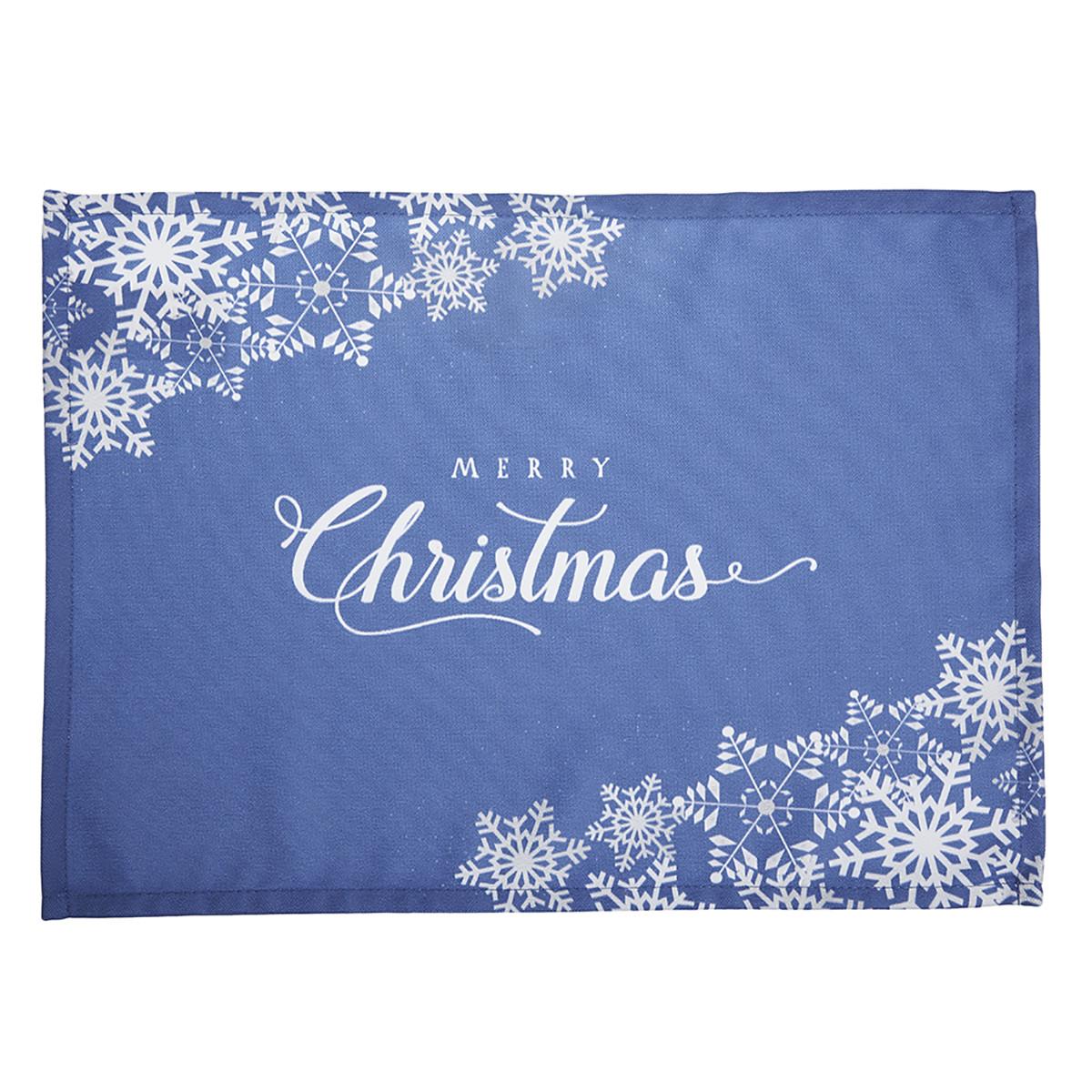 Χριστουγεννιάτικα Σουπλά (Σετ 2τμχ) Apolena Xmas Blue 790-5612/1 home   χριστουγεννιάτικα   χριστουγεννιάτικα σουπλά