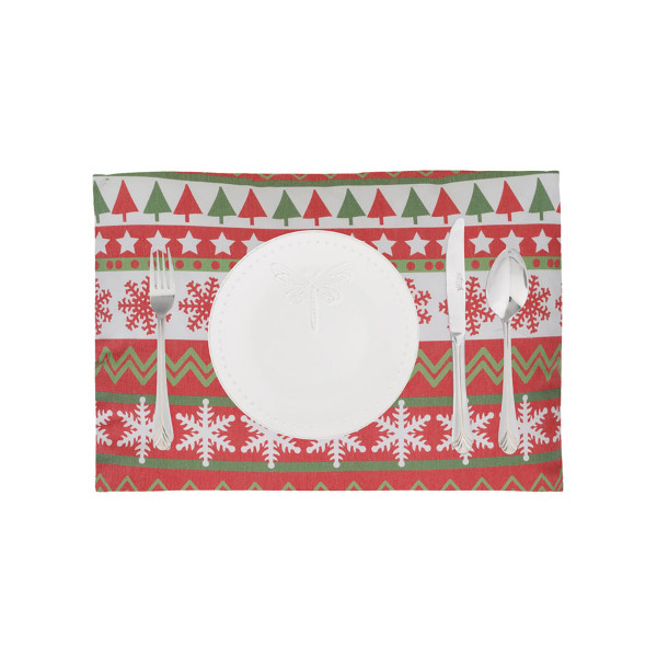 Χριστουγεννιάτικα Σουπλά (Σετ 2τμχ) Apolena Tree Patch 590-8540/