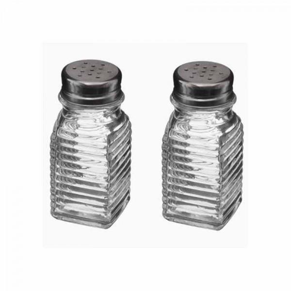 Αλατοπίπερο (Σετ) Marva Glass 150168