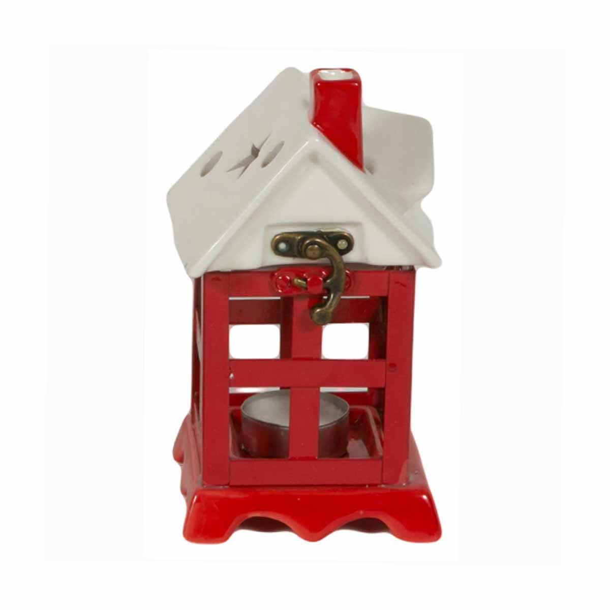 Χριστουγεννιάτικο Κηροπήγιο Marva House Medium 100222