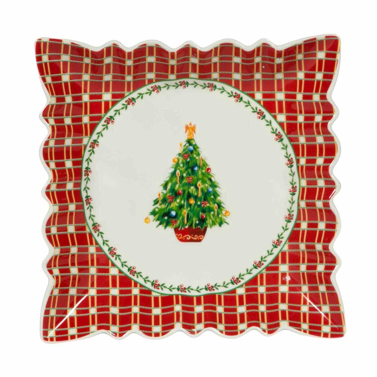 Χριστουγεννιάτικη Πιατέλα Marva Gift Tree 760023