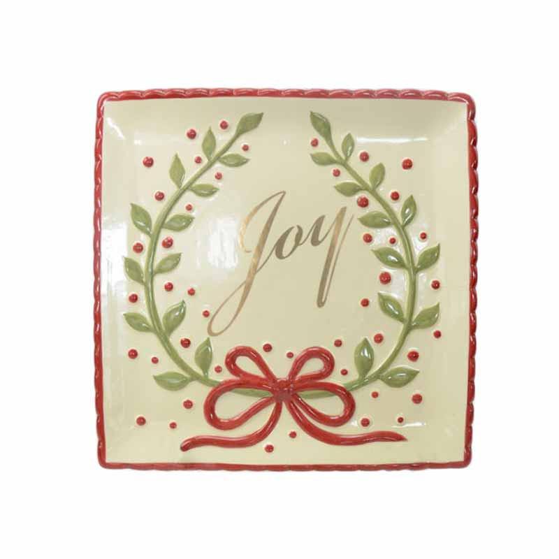 Χριστουγεννιάτικη Πιατέλα Marva Bow Joy 652174