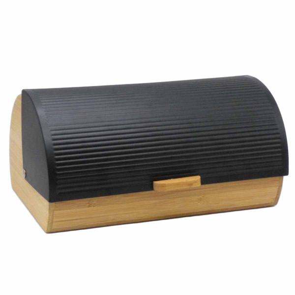 Ψωμιέρα Marva Stripes Black 489026