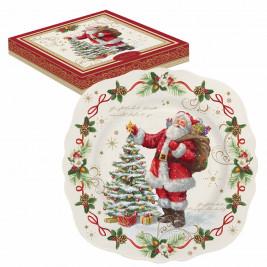 Χριστουγεννιάτικο Πιάτο Γλυκού Marva MG 1176ΜΑGΙ