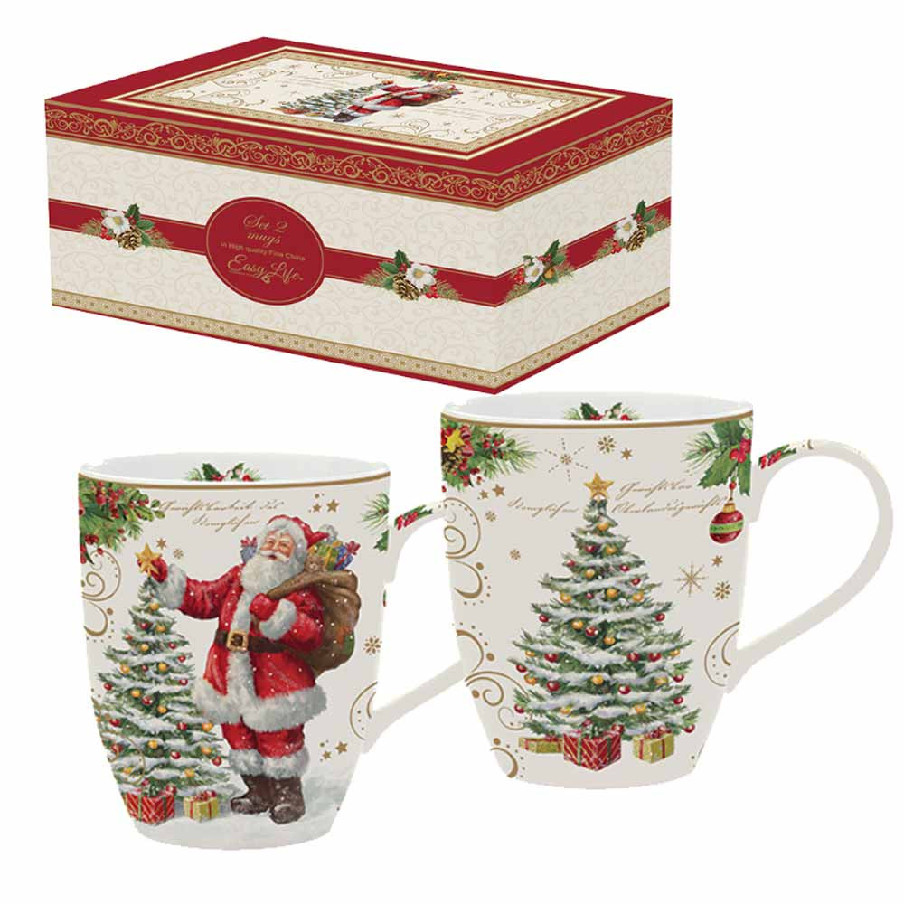 Χριστουγεννιάτικες Κούπες (Σετ 2τμχ) Marva MG 1457ΜΑGΙ