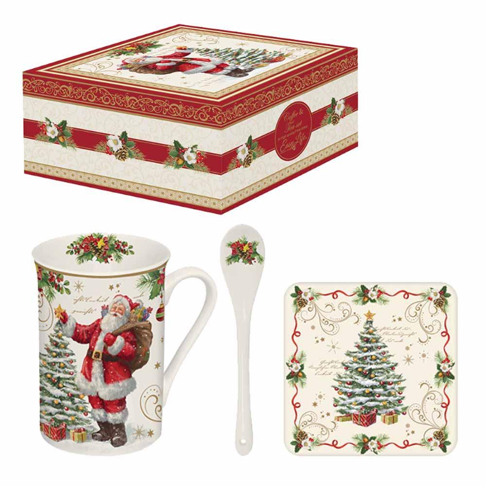 Χριστουγεννιάτικη Κούπα Με Κουταλάκι Marva MG 1459ΜΑGΙ