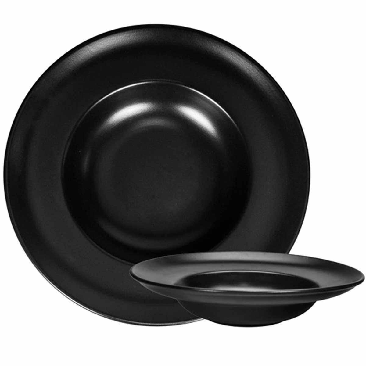 Πιάτο Ζυμαρικών Marva Black Pasta 02177300