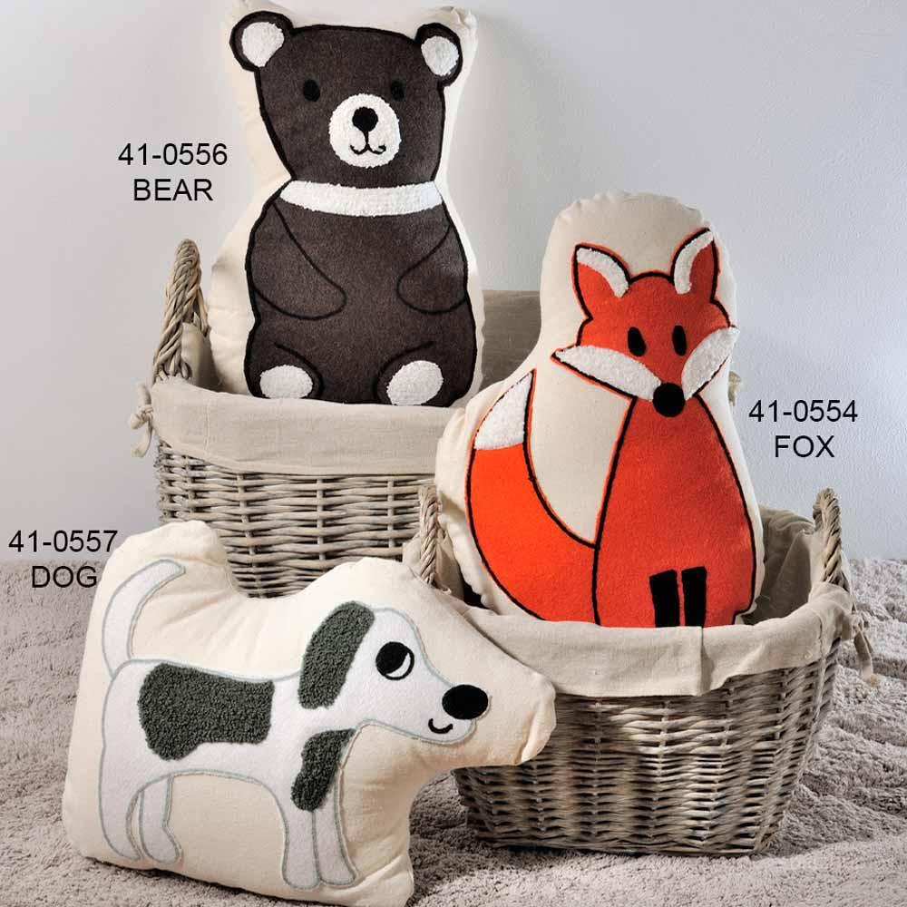 Διακοσμητικό Μαξιλάρι Down Town Animals home   παιδικά   διακοσμητικά μαξιλάρια