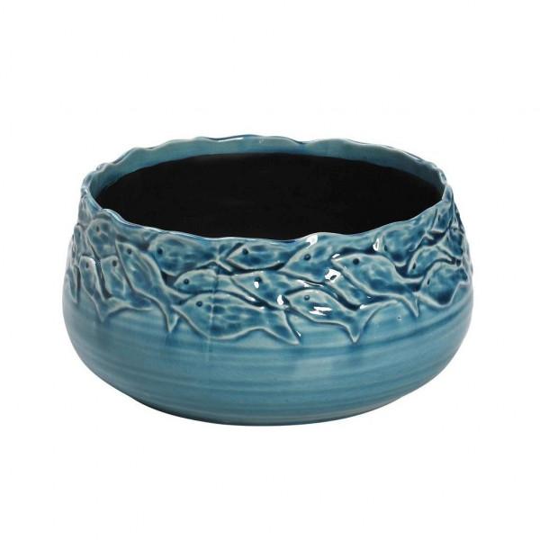 Διακοσμητικό Μπωλ Espiel Fishes Turquoise PIM141K2