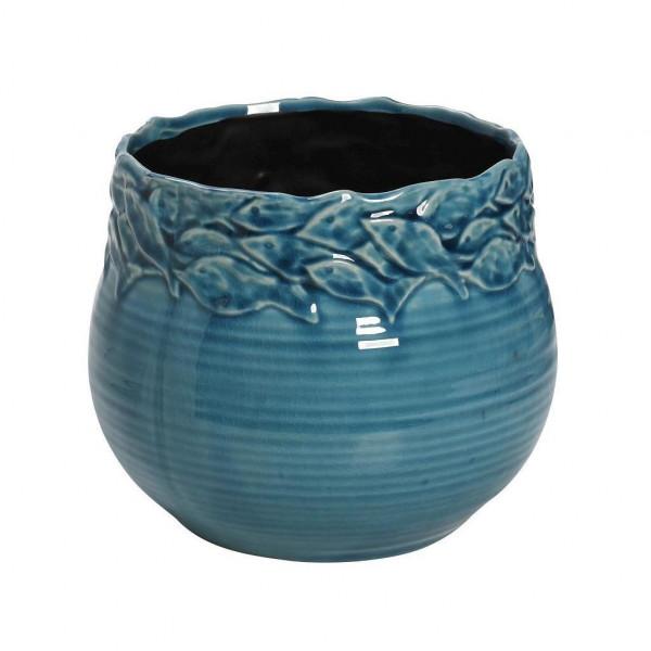 Διακοσμητικό Βάζο Espiel Fishes Turquoise PIM138K2